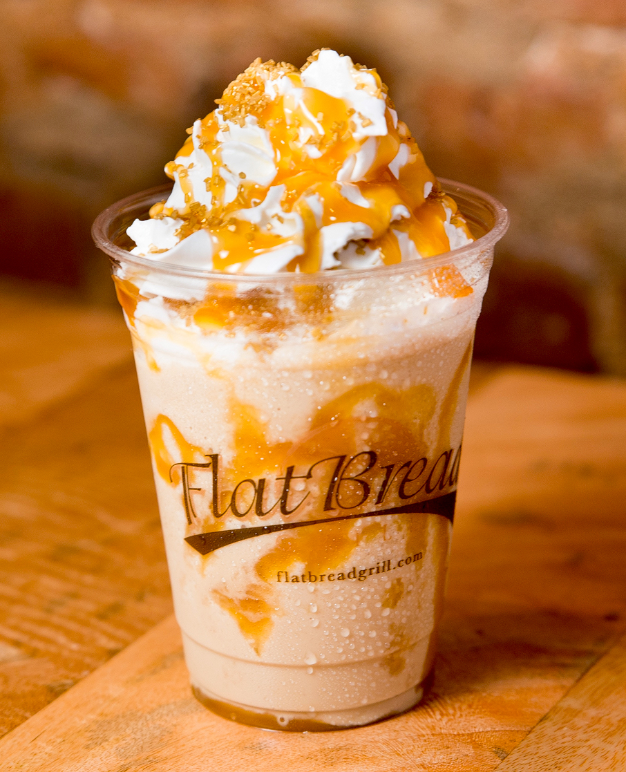 A Frappe from Flatbread Grill.